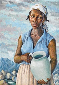 the water carrier by albert huie
