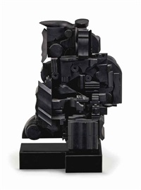 small column vi by louise nevelson