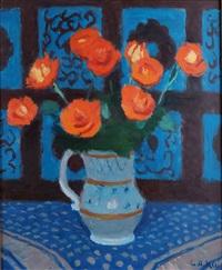 vase de fleurs by georges andre klein