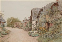 worcestershire cottages by wilmot pilsbury