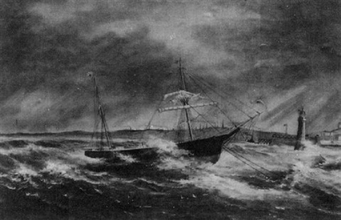 ship in distress by william gay yorke