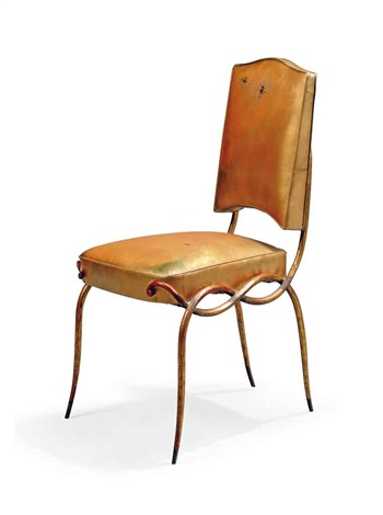 side chair by rené drouet