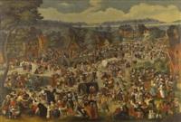 the kermesse of saint george by dutch school-southern (17)