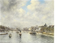 le pont des arts by alexis vollon