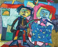 figurative composition by ahmet onay akbas