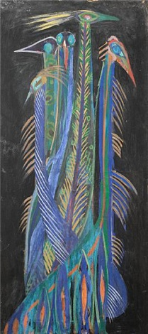 peacocks by modou niang