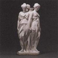 three graces by germain pilon