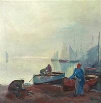rybáři v bretani by josef svoboda