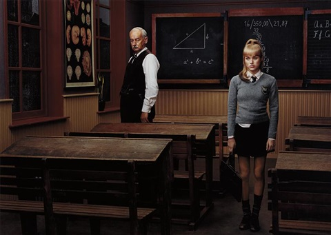 the classroom from hope by erwin olaf