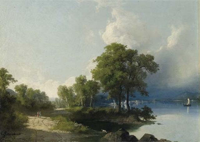 lago dazeglio by giuseppe camino