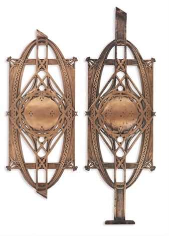 stair balusters from the chicago stock exchange collab wlouis sullivan 2 works by dankmar adler