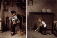 little rascal (+ another; pair) by joseph athanase aufray