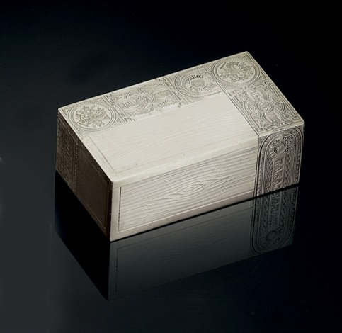 trompe loeil cigar box by pyetr abrosimov