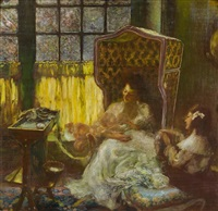 maternité by gaston la touche