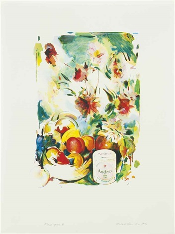 flower piece b by richard hamilton