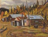 jack wade mining camp, alaska by alexander young jackson