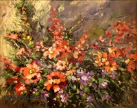 spring flowers by anton janopulo