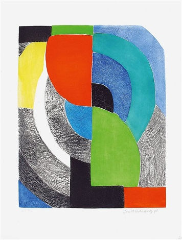 composition by sonia delaunay terk