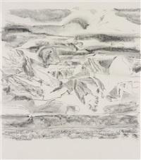 untitled (pastoral iv) by richard artschwager