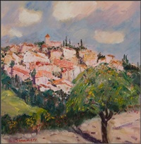 across the valley, provence by connie simmers
