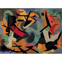untitled (abstraction) by max schnitzler