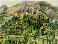 bergsby i provence by thorwald alef