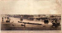 panoramic views of st. petersburg (2 works) by john augustus atkinson