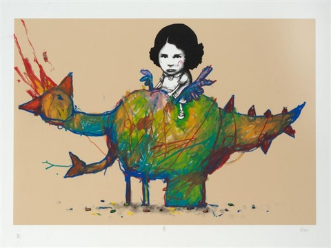 poulet dinosaure by dran
