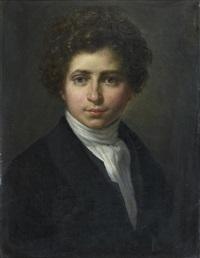 autoportrait by françois gabriel guillaume lépaulle