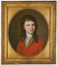a portrait of count paul alexandrovich stroganoff, aged 15 by jean voilles