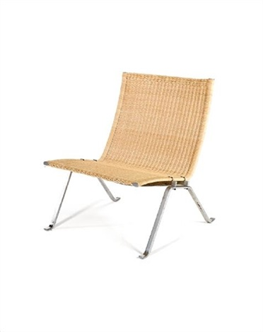 A Pk22 Chair By Poul Kjærholm