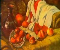 nature morte aux pommes by farkhat sabirzyanov