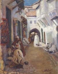 rue à constantine by roland (robert) olivier
