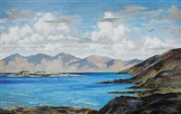 looking north from achill sound by mabel young
