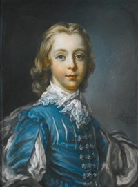 portrait of a boy, possibly peter benet legh (b. 1742) by francis cotes