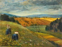 european landscape by walter bondy