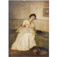 asleep by sir william quiller orchardson