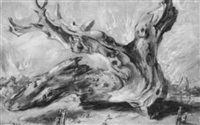 the gigantic driftwood by frederick taubes