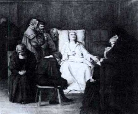 the death of martin luther by alexander theodore honore struys