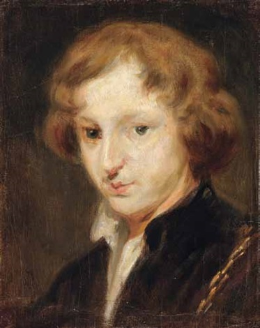 anthonis van dyck nach einem selbstbildnis in der alten pinakothek in münchen teilkopie after anthony van dyck by carl spitzweg