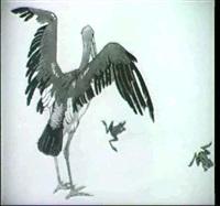 pelikan und frosche by martha hofrichter