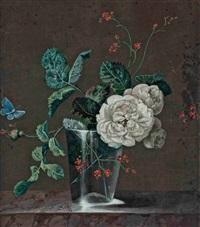 bouquet de fleurs by madeleine françoise basseporte