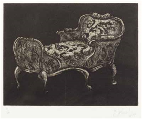chaise longue by william kentridge