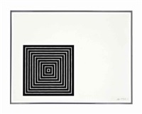 angriff, from: conspiracy: the artist as witness (axsom i.c.) by frank stella