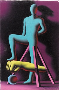 anonymously objectified by mark kostabi