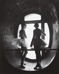 dancers of the opéra de paris ballet school by alfred eisenstaedt