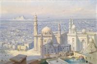 blick auf kairo by tony binder