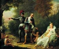 henri iv quittant gabrielle d'estrées by mademoiselle rivière