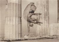 athènes - nicolsca dansant le parthénon by nelly (elli seraidari)