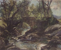 the bridge over the burn by william aitken